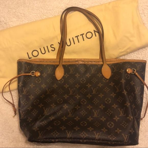 ec021ccd82a2 Louis Vuitton Handbags - FINAL PRICE Authentic Louis Vuitton neverfull MM